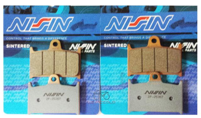 2P-253 Nissin Pastillas de Freno Delantero Sinterizado Mz Sfx 1000 de 2007