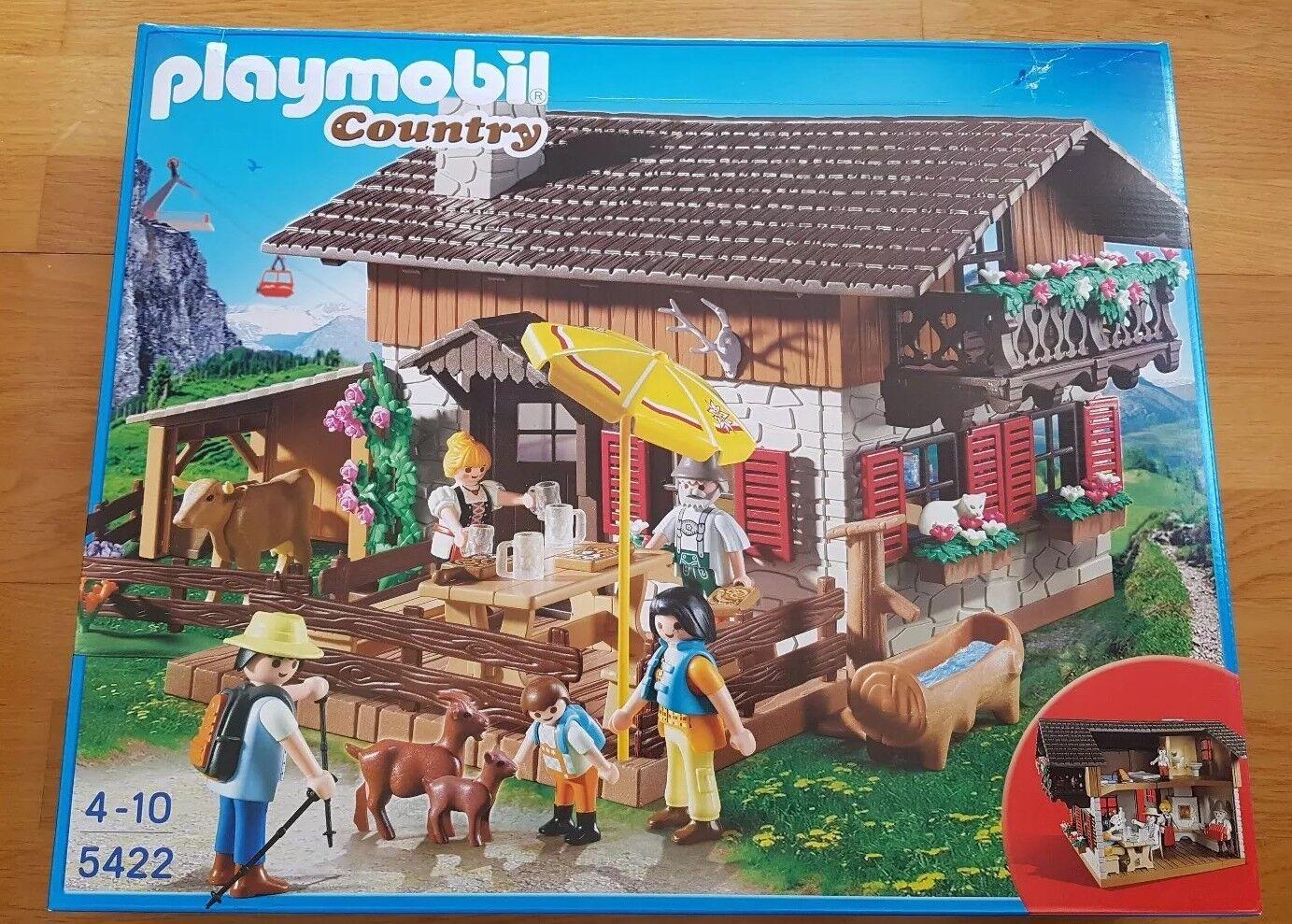 Playmobil Almhütte Country 5422 Alter 4-10 Jahre NEU