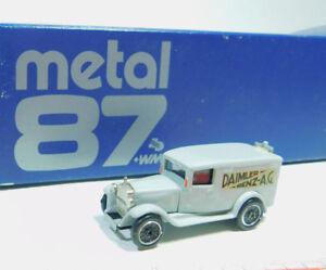 BK100-0-5-Modelcar-Danhausen-H0-1-87-008725-Metall-Mercedes-Benz-MB-OVP