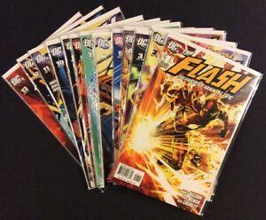 FLASH-THE-FASTEST-MAN-ALIVE-1-13-Comic-Books-FULL-SERIES-DC-2006-TV-Show-VF