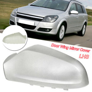 For-Vauxhall-Astra-H-05-2009-Wing-Mirror-Cover-Painted-Silver-N-S-Passenger-Left