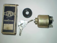 Fiat 850 1500 1800 2100  2300 Ignition Switch- Starter. Genuine N.O.S.Sipea Niki