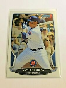 2013-Bowman-Chrome-Baseball-Base-Card-129-Anthony-Rizzo-Chicago-Cubs