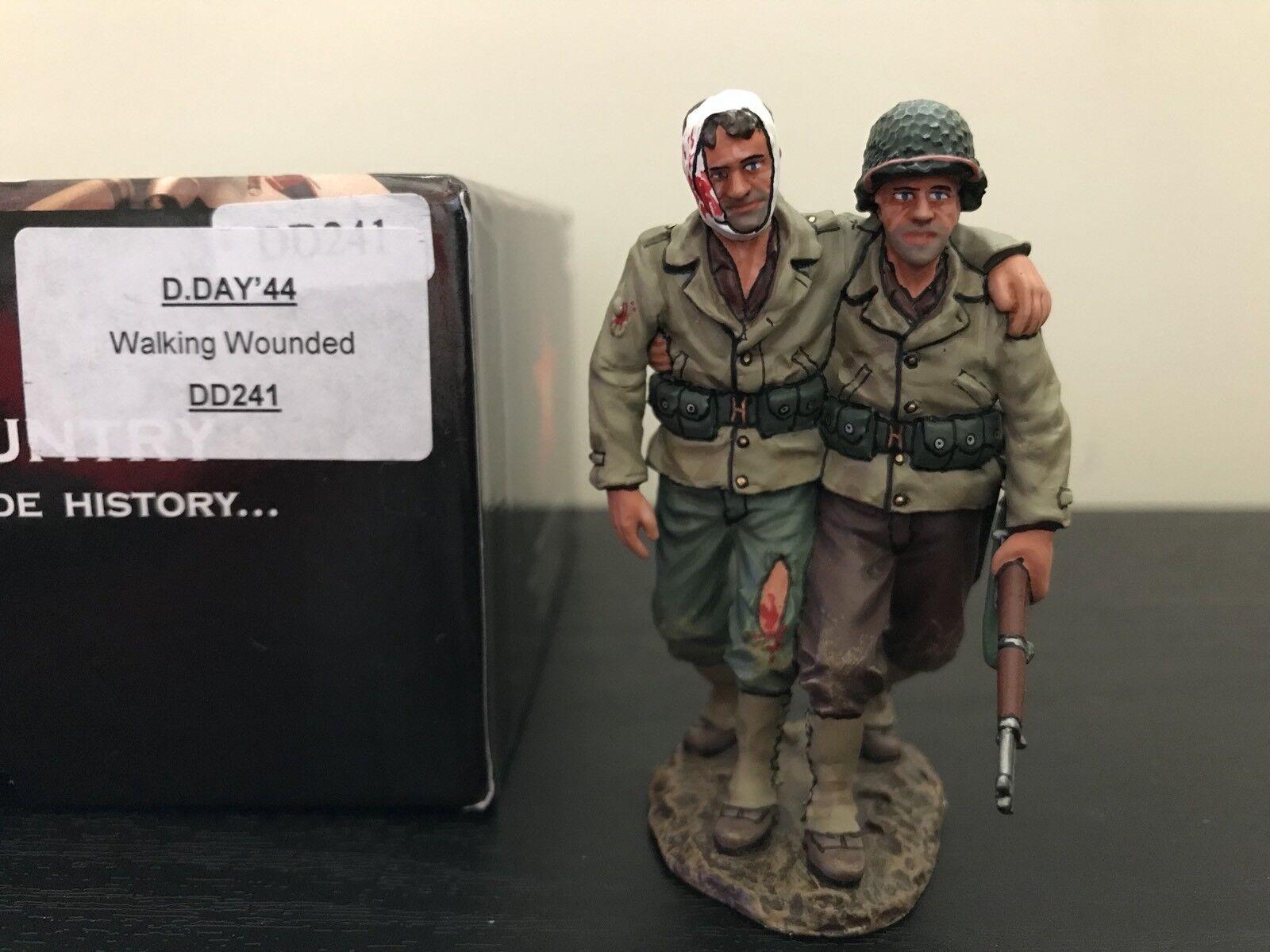 DD241 WW2 WW2 Walking Wounded US D-Day Normandy GI's Mint In Box DD 241