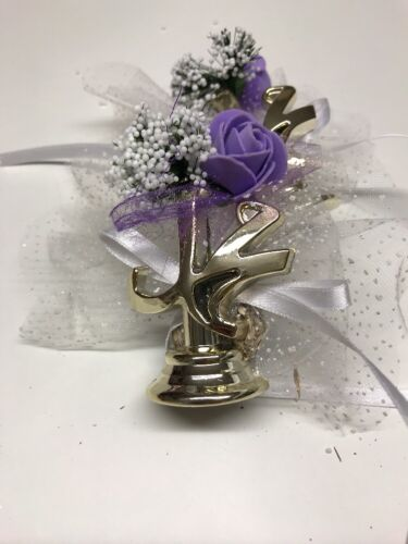 10X Gastgeschenke Geburt Mevlüt Ayet Muhammed Magnet Lavendel Neu