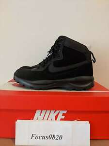 NEW-Nike-Manoadome-844358-003-Triple-Black-Men-039-s-Hiking-Trail-Work-Boots