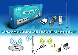 alfa wifi camp pro long range wifi repeater kit r36 tube