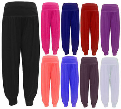 Diszipliniert New Ladies Women Ali Baba Baggy Harem Hareem Long Trouser Legging 8-26 Plus Size