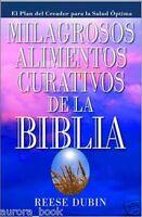 Milagrosos Alimentos Curativos De La Biblia Bible Miracle Food Cures Ws3839