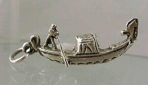 Sterling Silver Gondola Charm