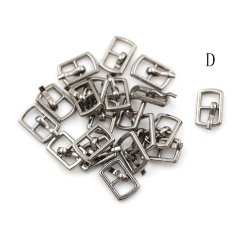 10PCS 4.5MM Diy Mini Japanese Word Buckles For Bjd Blyth Doll Shoes Clothes BS