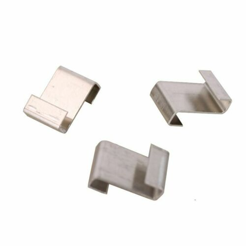 Aluminium Lap Z Clips For Greenhouse and Coldframe Window Support