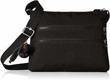 Alvar Medium Cross Body Shoulder Bag, Kipling, Black T