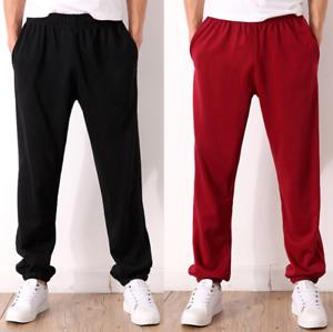 Plus Size Mens Sweatpants Casual Loose Sport Trousers Walking Gym Pants K08 New