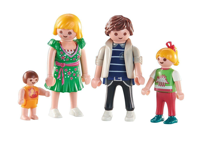 Playmobil 6530. Family of 4 members. Mama, santa, girl and baby