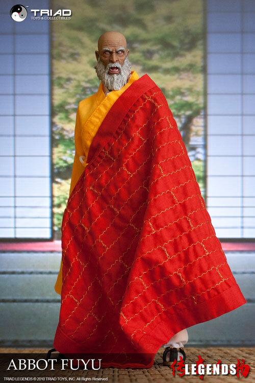 Triad Toys 1/6 ABBOT FUYU Shaolin Monk Male Figure