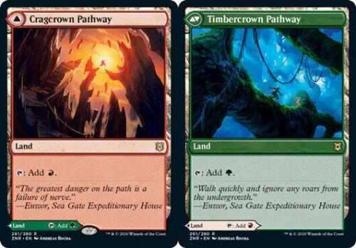 Timbercrown Magic the Gathering MTG Zendikar Rising Cragcrown Pathway