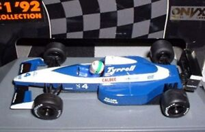Onyx-125-126-141-142-TYRRELL-F1-Model-Cars-Nakajima-MODENA-Grouillard-decesaris