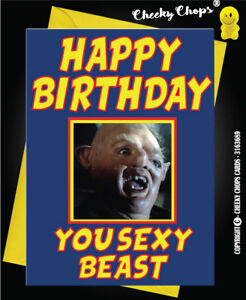 Image Is Loading THE GOONIES Birthday Card Boyfriend Brother Son Husband
