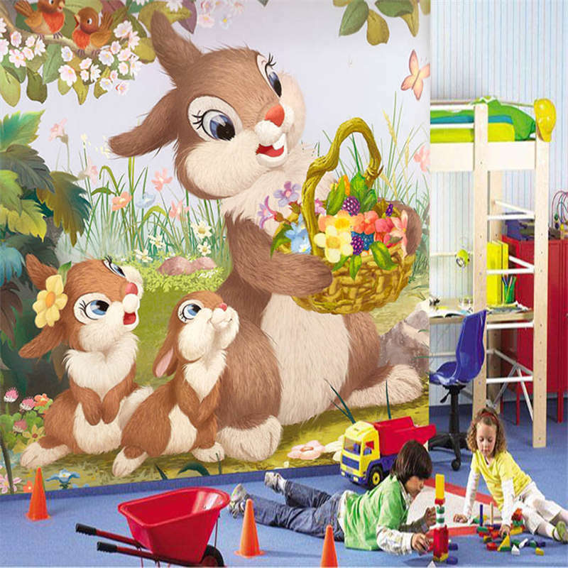 A Basket Of Flowers 3D Full Wall Mural Photo Wallpaper Printing Home Kids Decor