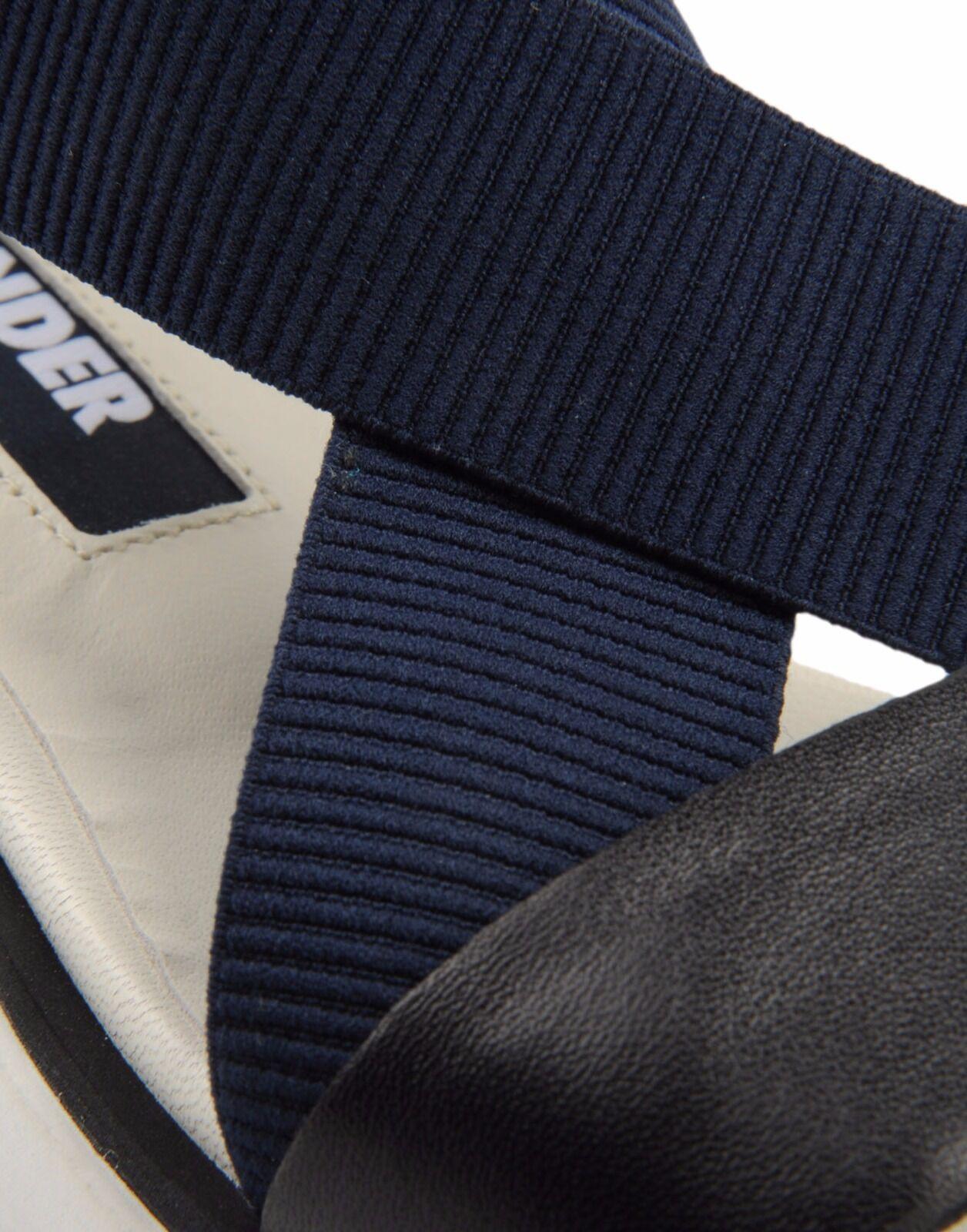 Jil Jil Jil Sander Navy Flat Platform Sandals 37 7 SOLD OUT