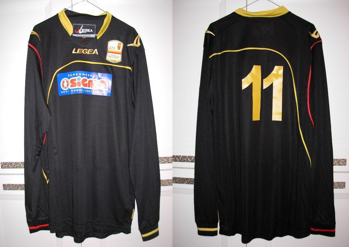 MAGLIA LO NARDO NR 11 indossata in ACR MESSINA-SERRE ALBURNI 11-12 taglia XL