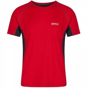 Regatta-Mens-Virda-Light-Moisture-Wicking-Isovent-T-Shirt