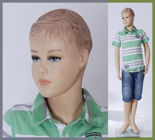 Boy-12 Kinderpuppe Schaufensterpuppe Mannequin Kind Kind Kind Mädchen kid mannequin 143cm 573426
