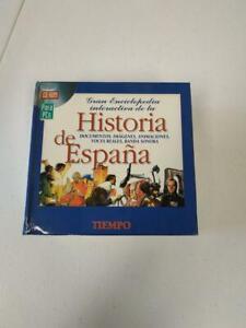Historia de España en 18 CD ROM. Gran enciclopedia interactiva. Completa