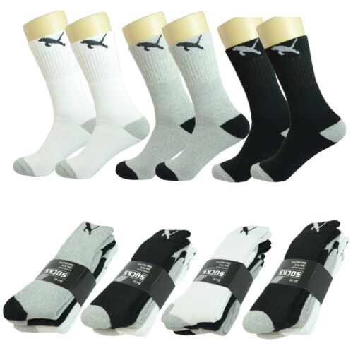Ankle Sport Socks Size 9-11 10-13 Wholesale Multi Colors Men/'s Crew Athletic