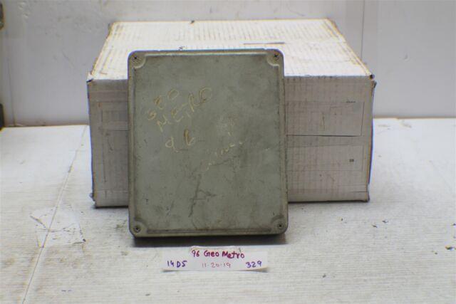 1996 Geo Metro 1 3l At Engine Control Unit Ecu 3392051gf1