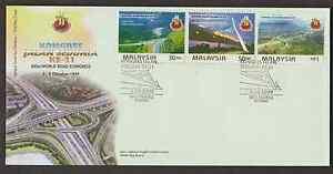 (F243)MALAYSIA 1999 21ST WORLD ROAD CONGRESS FDC.
