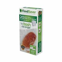 Foodsaver 20 Quart-sized Bags Green 20 Bags Free Shipping