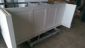 6ft White Kitchen Island Without Counter Top Available For Custom