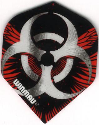 3 per set Biohazard Dimplex Dart Flights