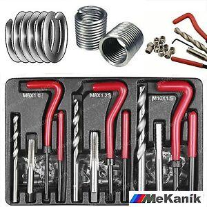 Thread-Repair-Helicoil-Re-Thread-Tool-Kit-M6-M8-M10-Inserts-Drill-Tap-Set-88pc