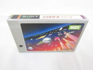 MSX-EDDY-II-2-Cartridge-only-Sony-Import-Japan-Video-Game-msx-cart