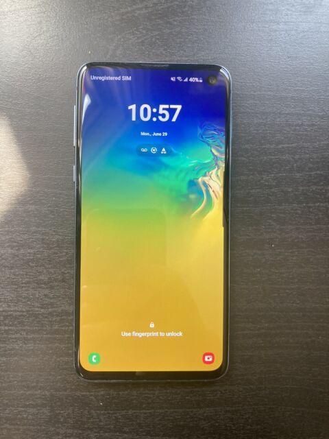 Samsung Galaxy S10e SM-G970W - 128GB - Prism Blue (Unlocked) (Single SIM) (CA)