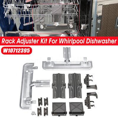 RACK ADJUSTER KIT W10712395 SAME AS PS10065979 AP5957560 W10350375 W10250159 COMPLETE KIT
