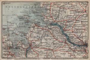 Elbmundung Elba Estuario Willemshaven Hamburgo Bremerhaven 1910