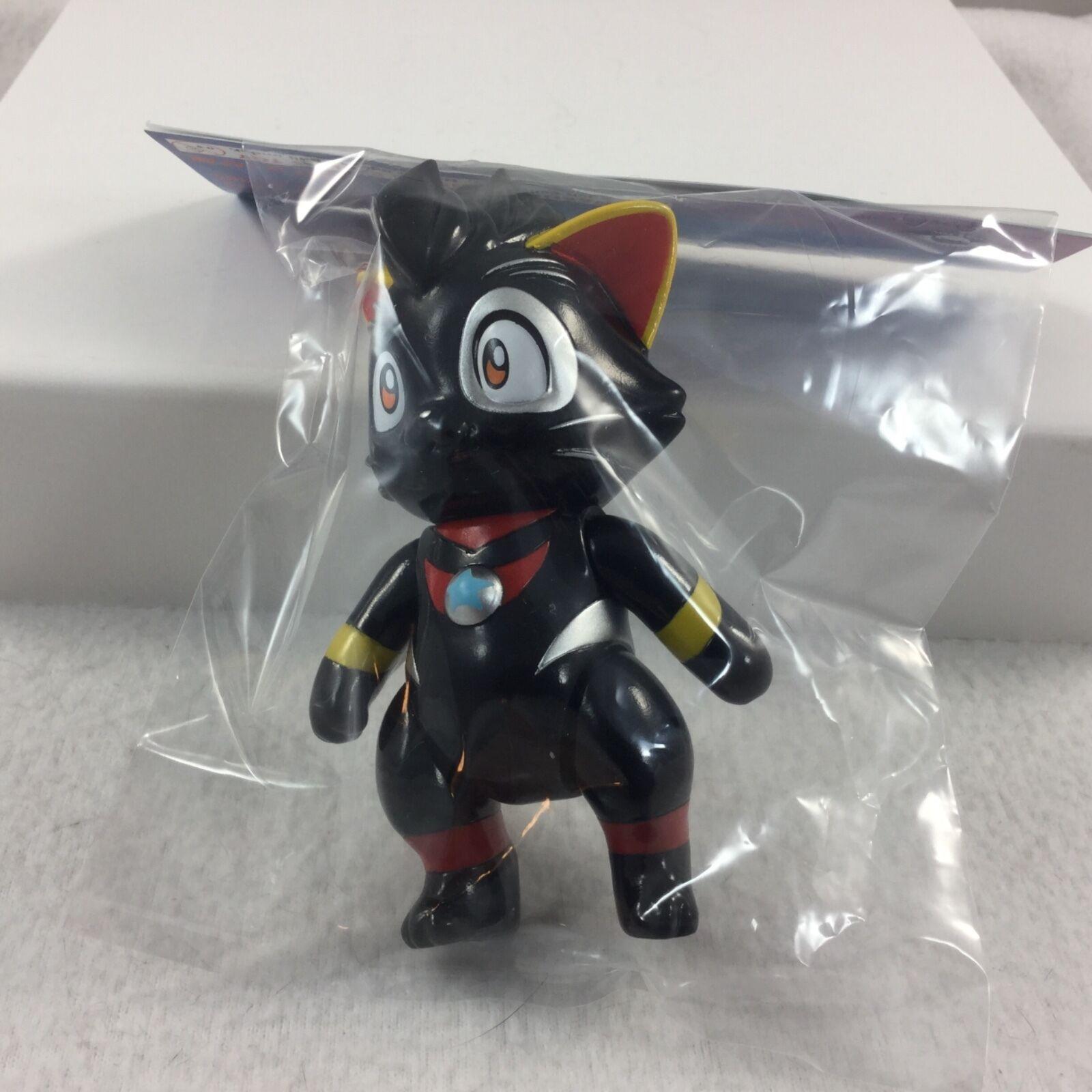 Max Juguete Vinilo Ultra Nyan Dark Estrella Co Gato Marca Nagata Yoshihiko Makino 4.75  Nuevo en Paquete