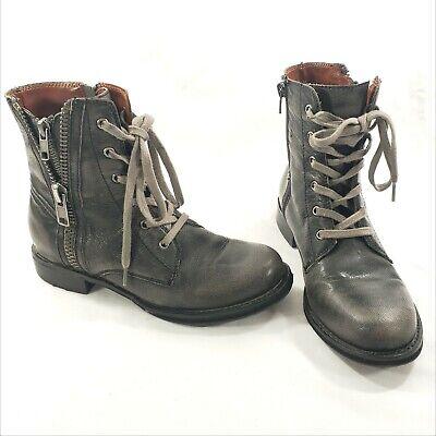 Mia Heritage Leather Combat Boots 7 7M