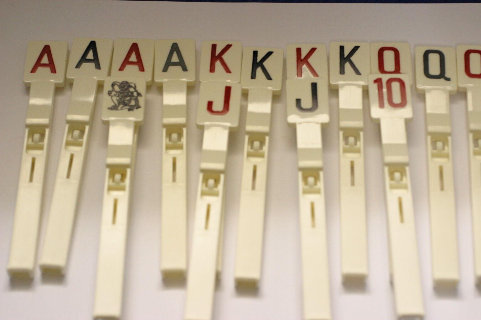 SET DE 15 CIBLES POUR FLIPPER GOTTLIEB JOKER POKER
