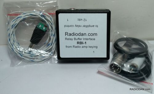 ICOM IC-M700PRO Amplifier relay buffer keying interface and cable IC-M700