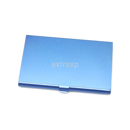 Man/'s Women Metal Slim Light Portable Business Credit ID Card Case Box Holder US