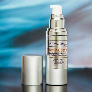 VITAMIN C SERUM 30% + E + FERULIC ACID + HYALURONIC ACID (HA) Organic Anti-Aging