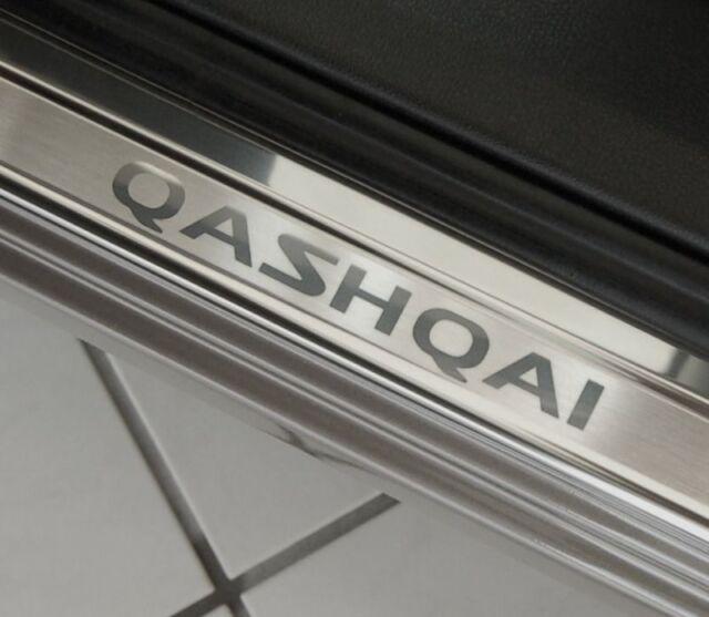 BARRE di ingresso in acciaio inox Nissan Qashqai anno j11