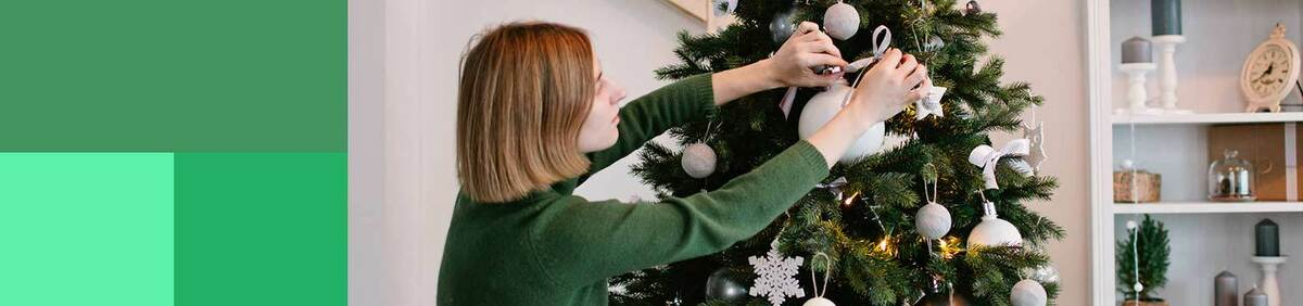 Shop event Christmas Décor & Trees Deck your halls from £1.99