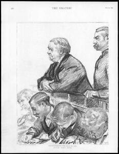 1895-Antique-Print-LONDON-Bow-Street-Jabez-Spencer-Balfour-Court-Dock-173