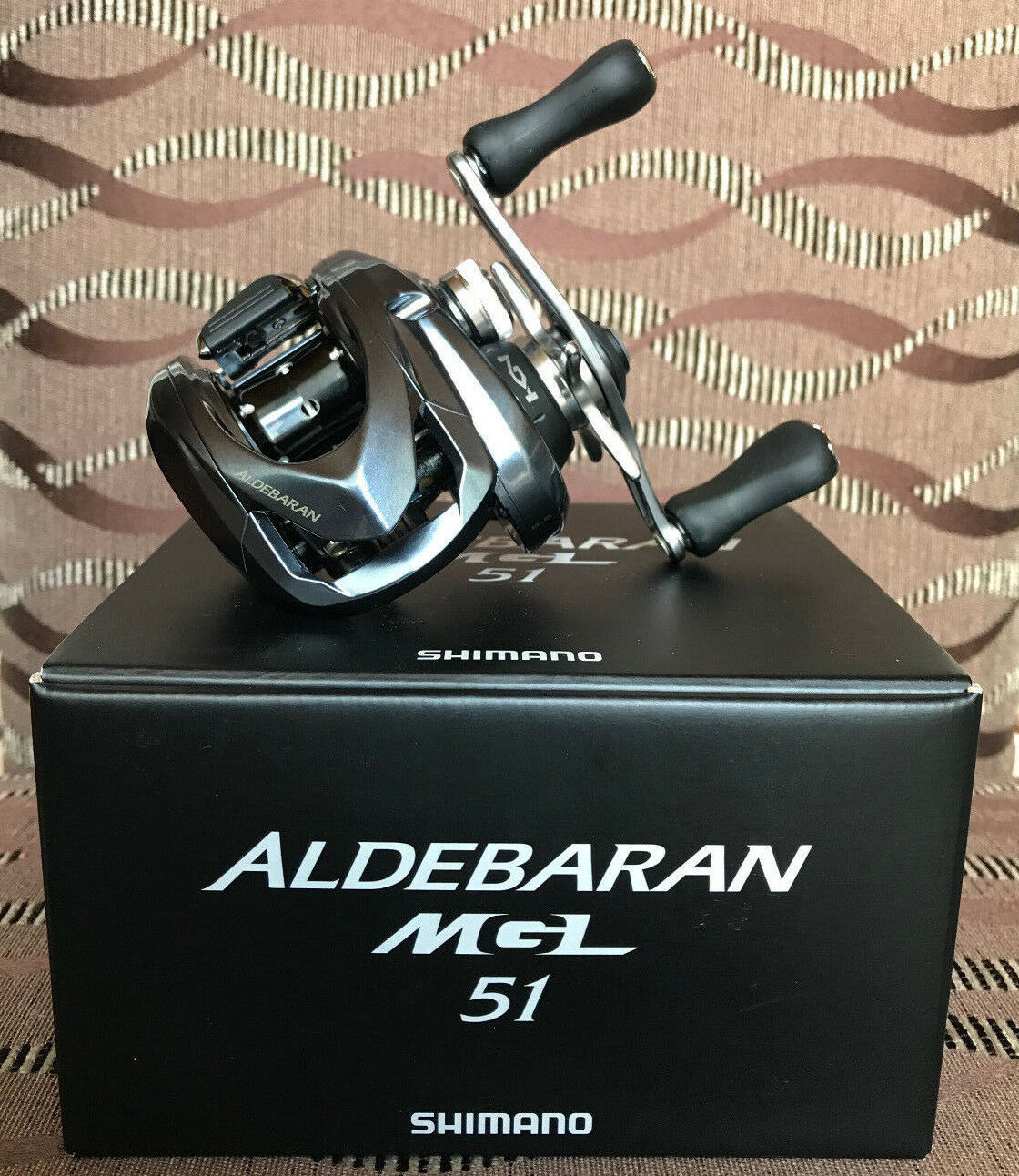 Mano izquierda de Shimano Aldebaran MGL 51 Baitcastrolle